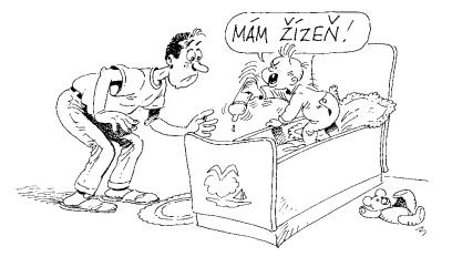 Cartoon Tschechisch ohne Mühe